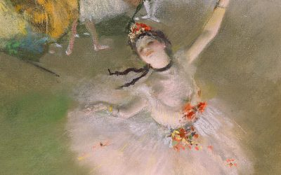 Ballerina-by-Edgar-Degas-Wallpaper-Art-Painting
