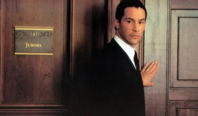 THE DEVIL'S ADVOCATE, Keanu Reeves, 1997, (c) Warner Brothers