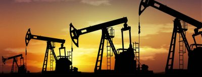 pump jack oil field