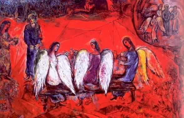 chagall_angels